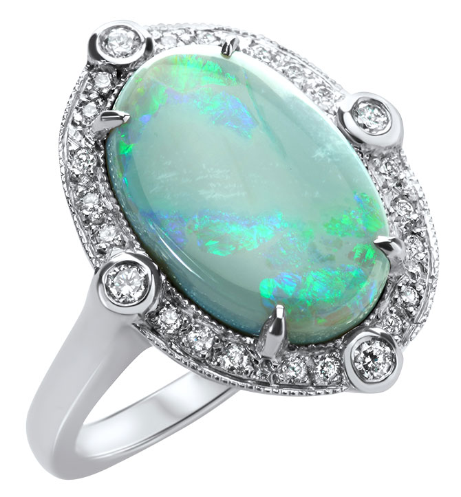 just jules australian opal ring