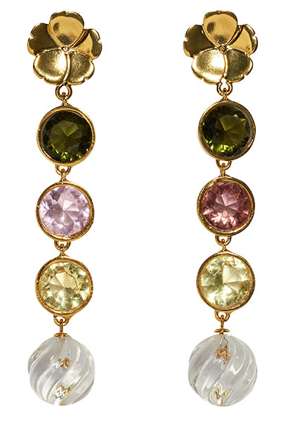 lizzie fortunato nonna earrings