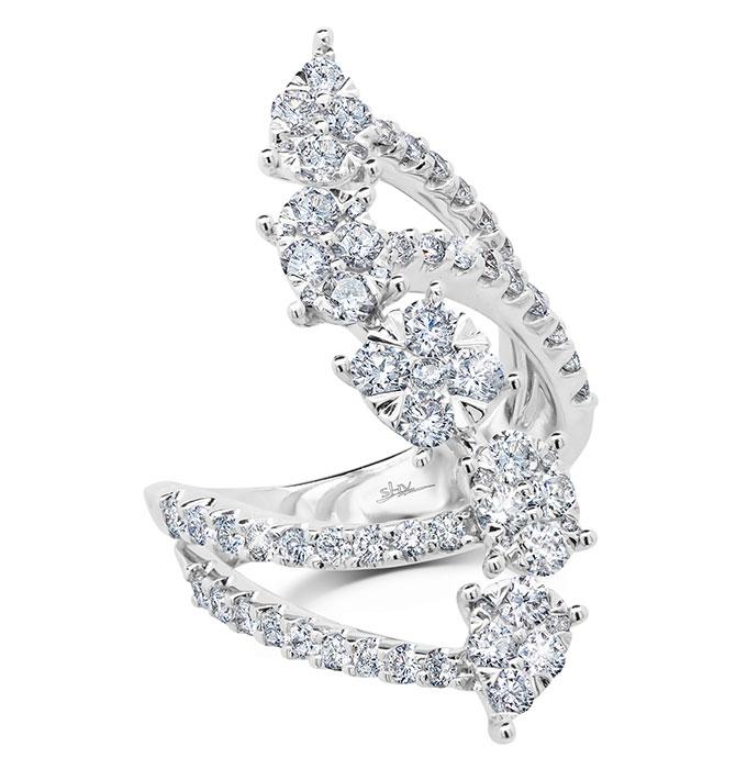 shy glittara diamond ring