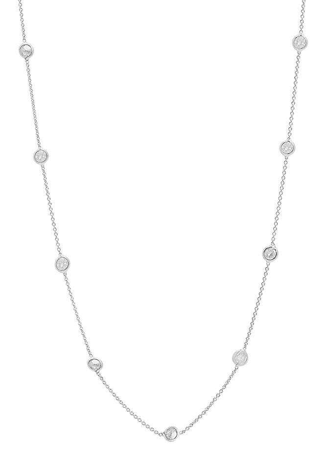 tresor organic diamond necklace