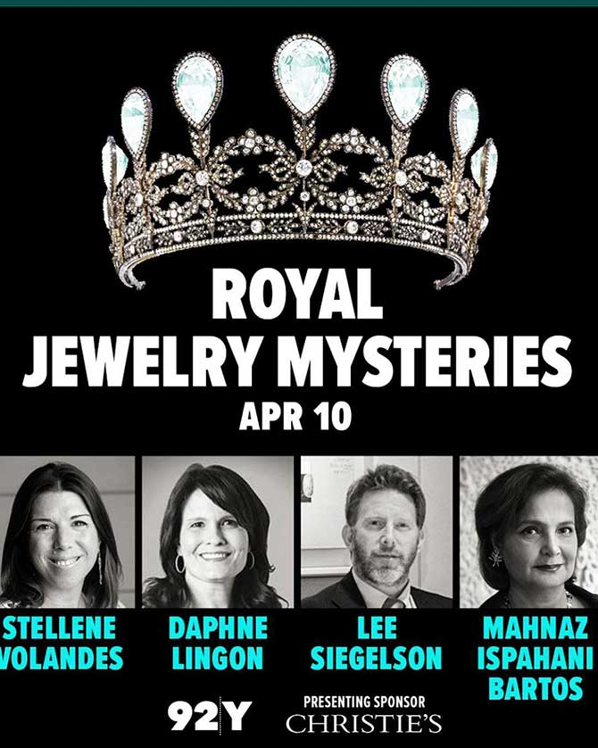 92nd Street Y jewelry talk