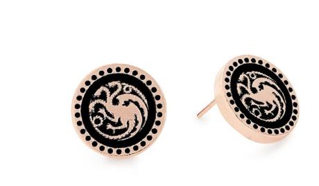 Alex and Ani Targaryen post earrings