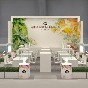 Christopher Designs booth JCK