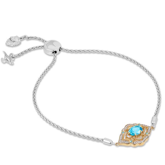 Zales Aladdin topaz bracelet