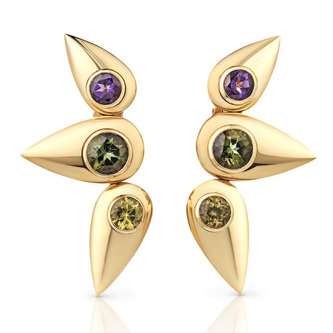 Cora Sheibani earrings