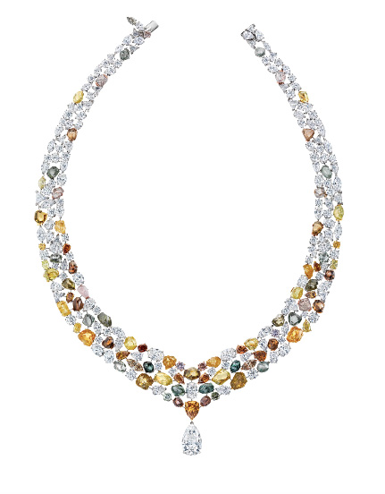 De Beers Jewellery Soothing Lotus necklace