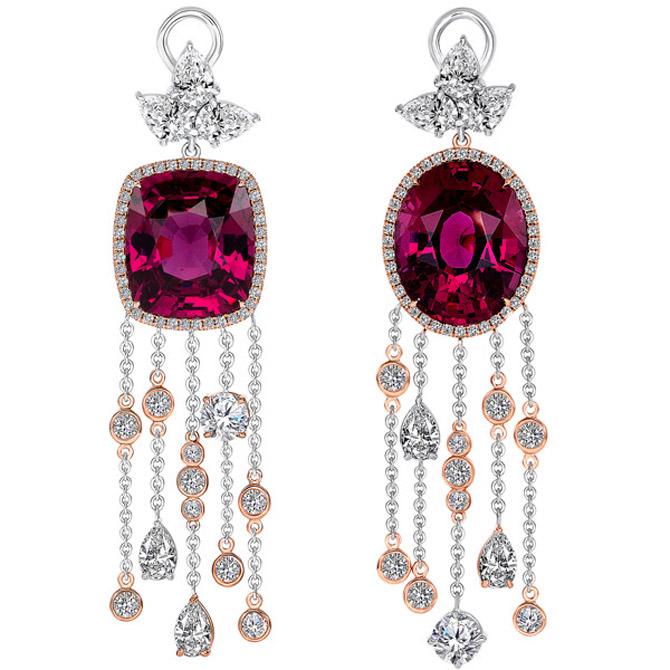Uneek Heartstrings earrings
