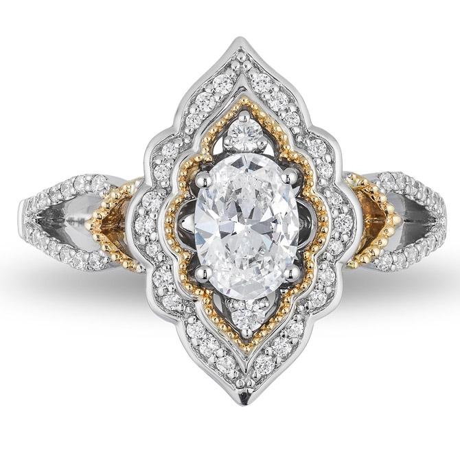 Zales Aladdin diamond engagement ring