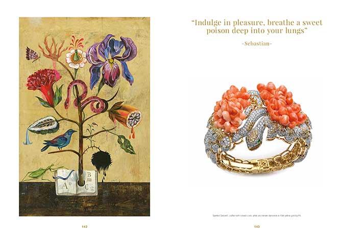Farah Khan book coral bracelet