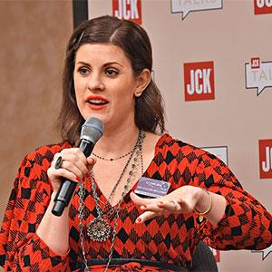 Jen Cullen Williams at JCK Las Vegas 2018