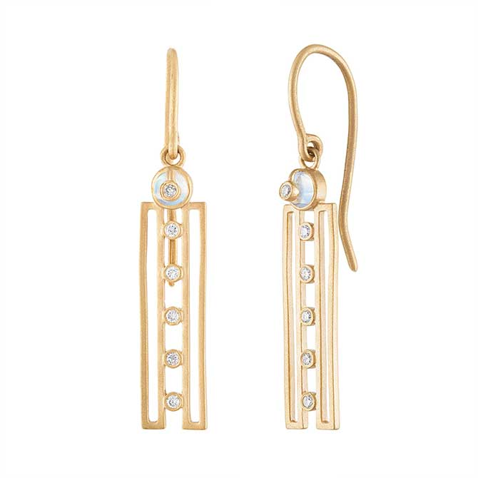 Loriann Harmony linear earrings