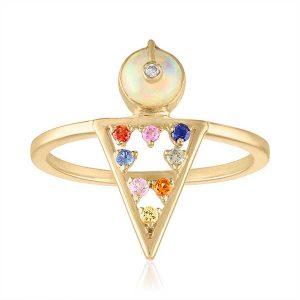 Loriann Moderne ring