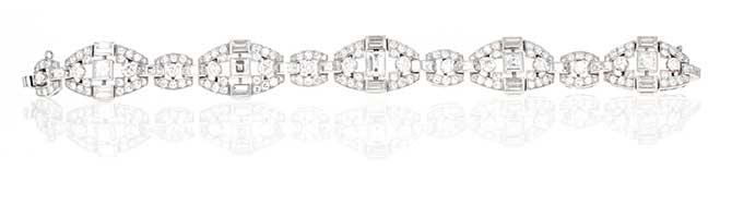 McTeigue Mauboussin diamond bracelet