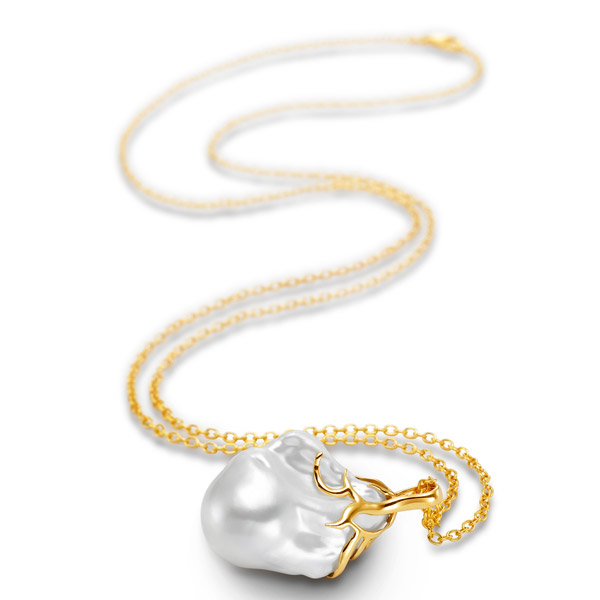 Mastoloni pearl Fireball necklace