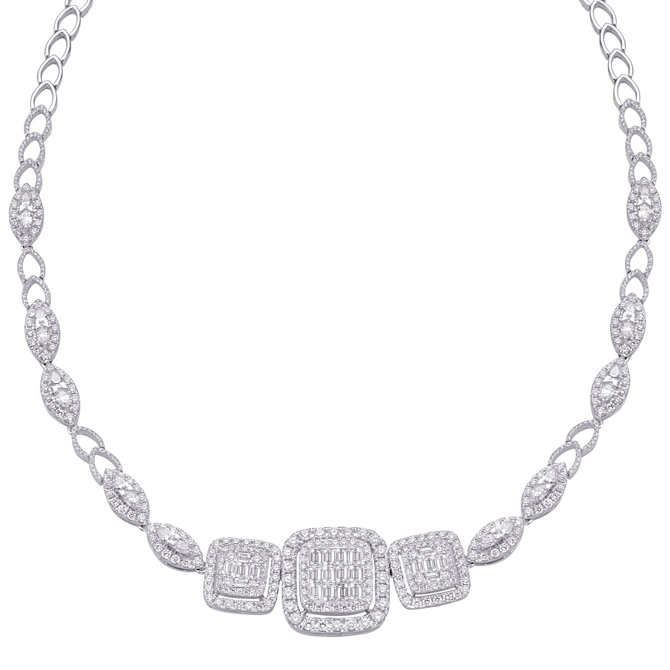 Almor Designs diamond necklace