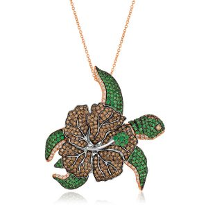 Le Vian sea turtle pendant