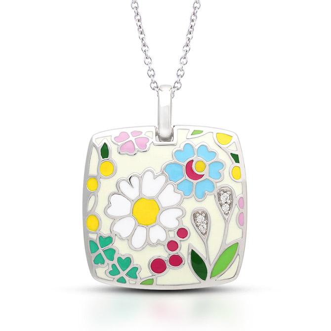 Belle Etoile Flower Garden pendant