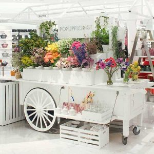 Popup Florist at Neiman Marcus Hudson Yards
