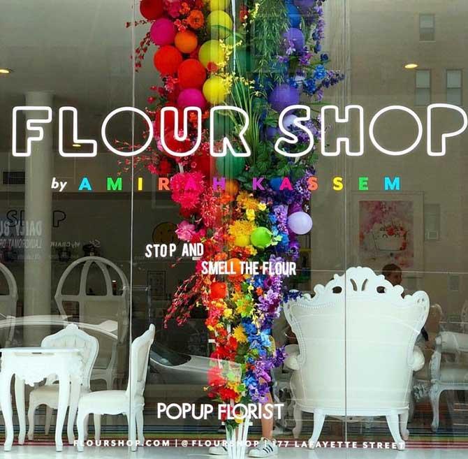 Popup Florist x Flour Shop