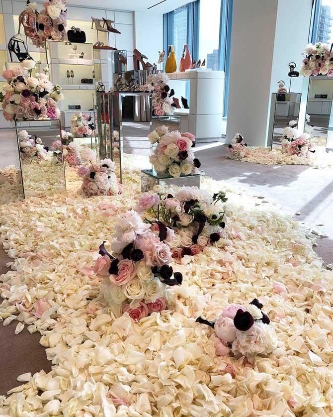 Popup Florist x Jimmy Choo