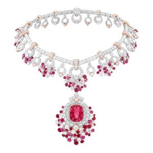 Van Cleef Arpels Jardin De Rubis necklace