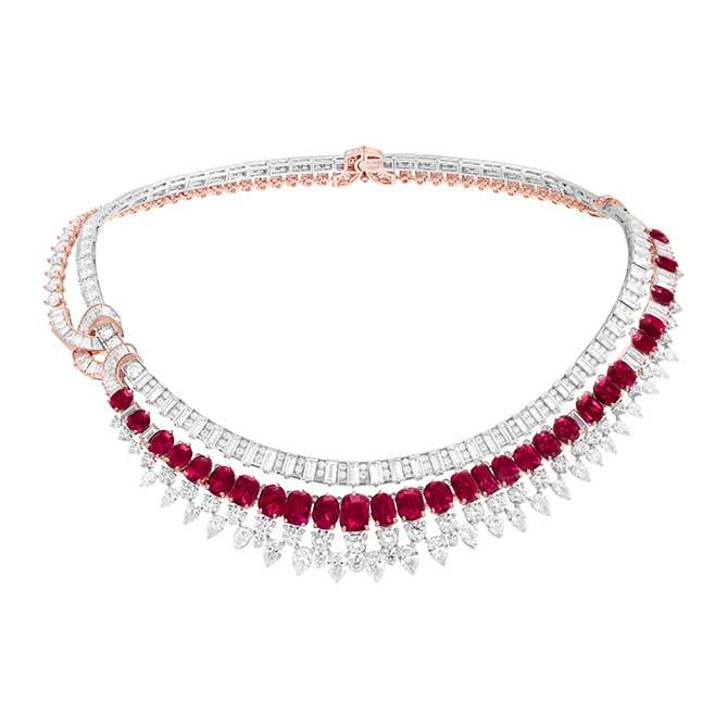 Van Cleef Arpels Rivieres necklace