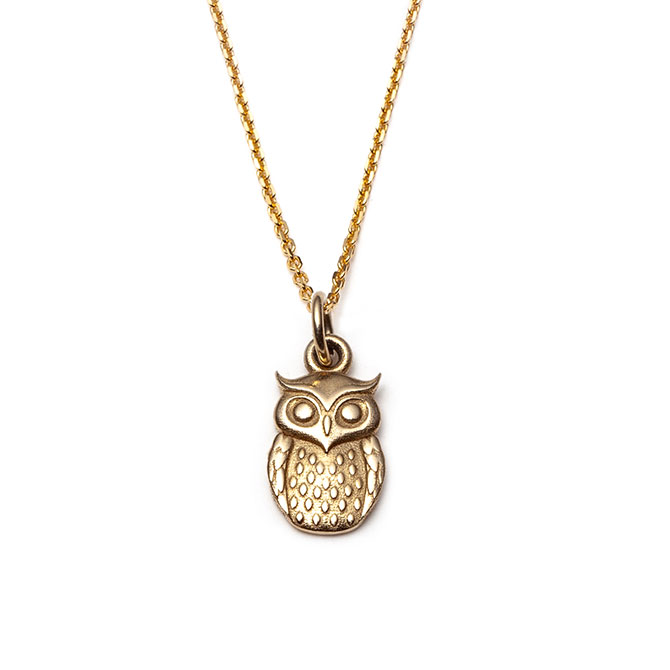 With Love Darling owl charm