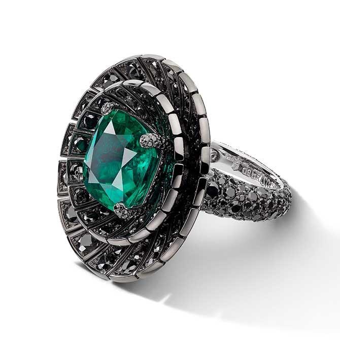 de Grisogono emerald ring