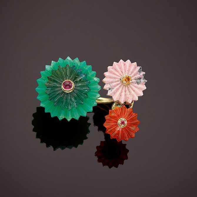 Alice Cicolini floral ring