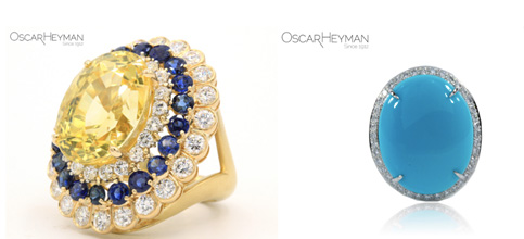 Billy Porter Oscar Heyman rings