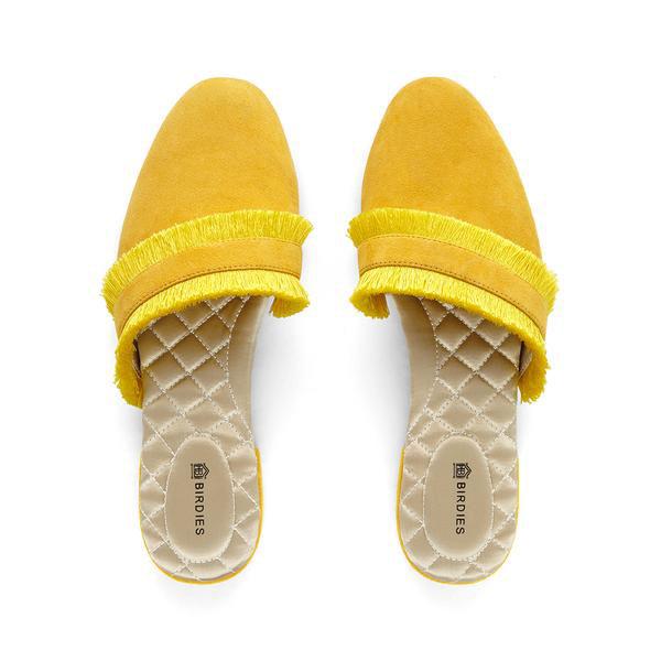 Birdies yellow slippers