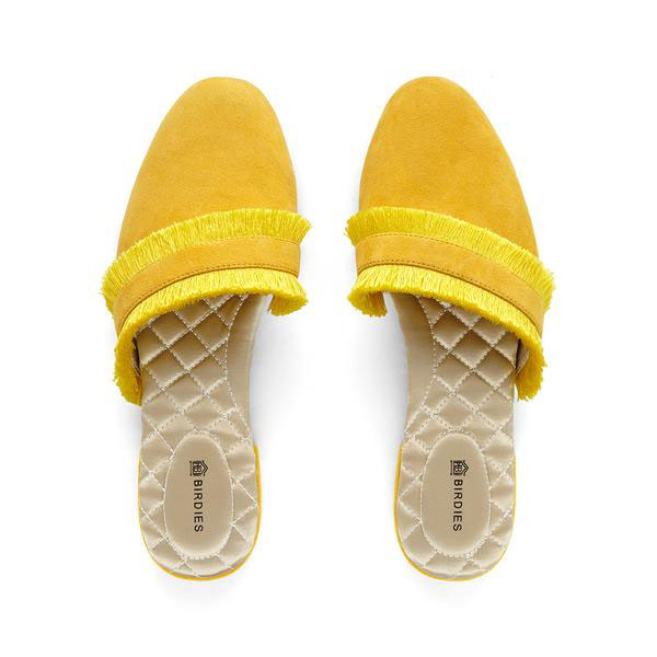 Chaussons Birdies jaunes