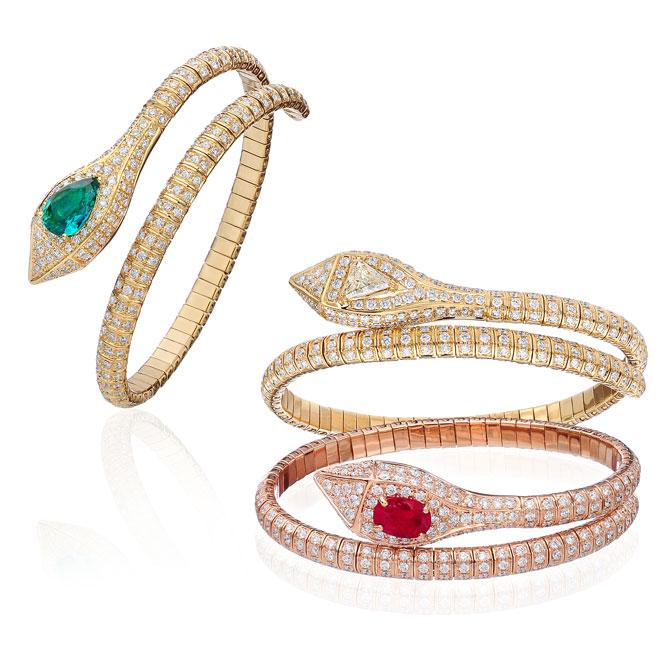 Hasbani snake bracelets