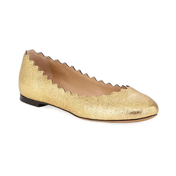 Chaussure plate Chloé à Bergdorfs