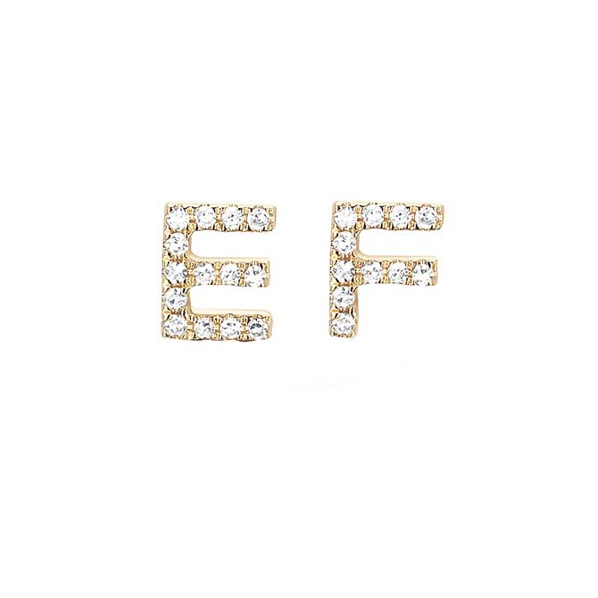EF Collection initial studs