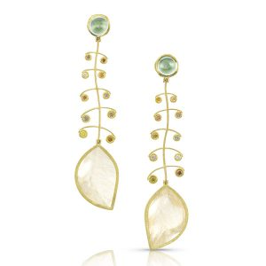 Alishan leaf earrings