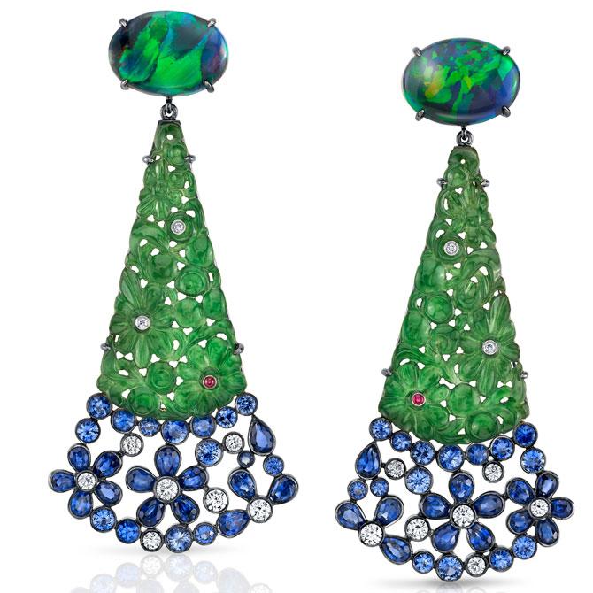 Joel Price drop earrings