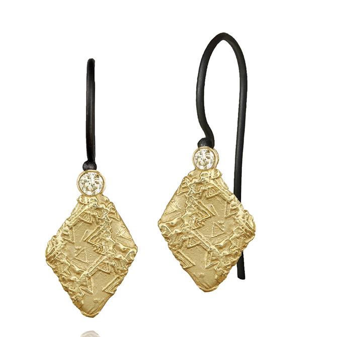 Sarah Graham Trigon earrings