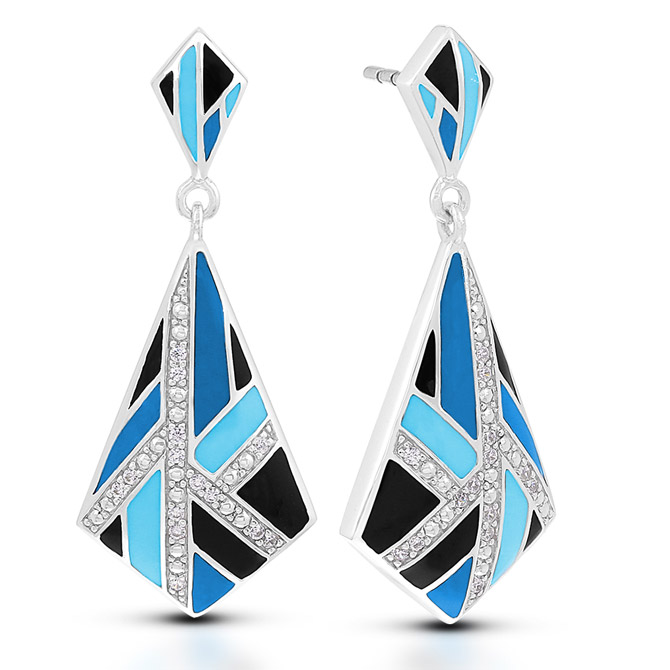 Belle Etoile Delano earrings
