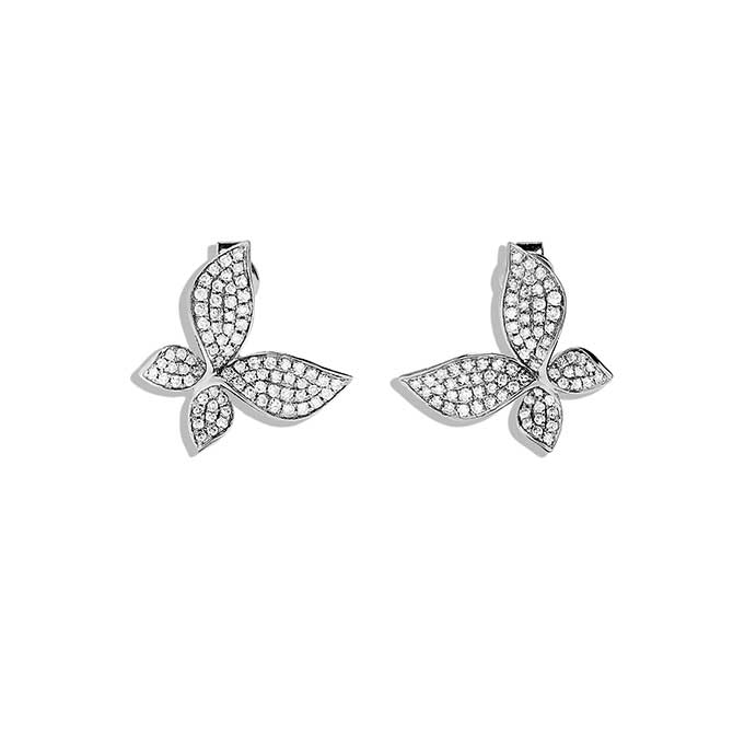 Effy butterfly diamond earrings
