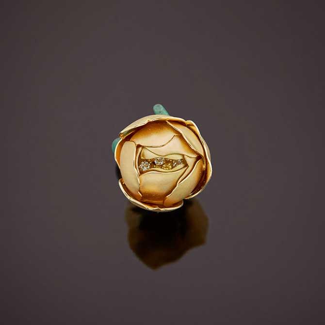 Emmanuel Tarpin rose ring