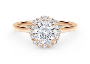 Forevermark Center of My Universe Floral Diamond Engagement ring