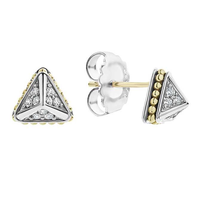 Lagos KSL diamond studs