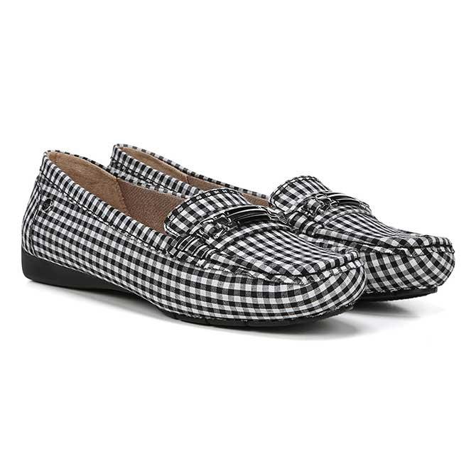 Life Stride gingham loafer
