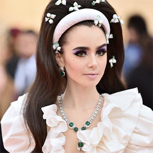 Lily Collins Met Ball
