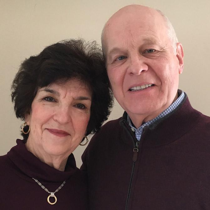 Lisa and Fred Morgan of Alisa
