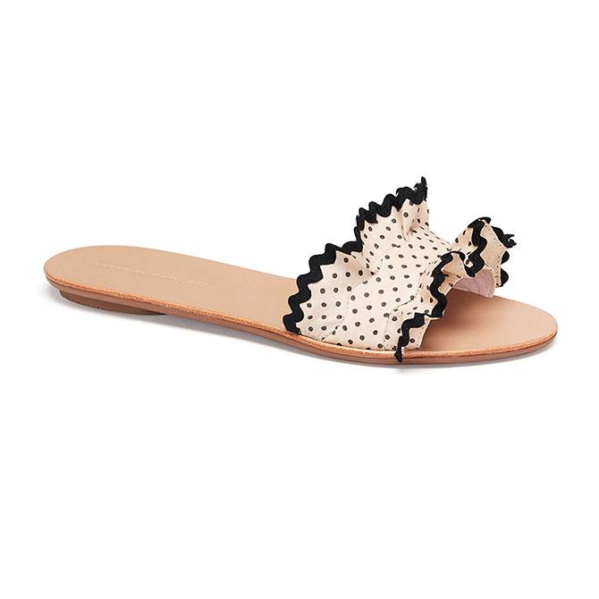 Loeffler Randall polka dot shoe
