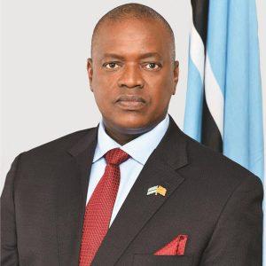 Botswana president Masisi