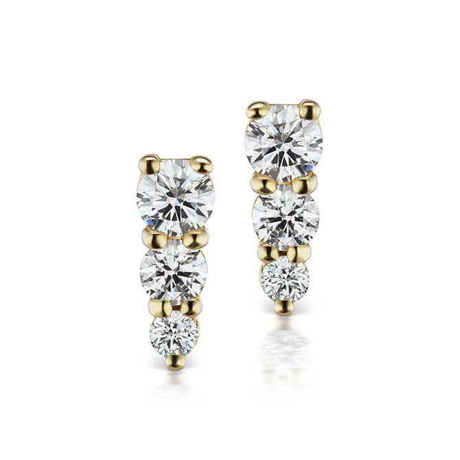 Michelle Fantaci diamond earrings