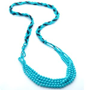 Rajola Calypso turquoise necklace